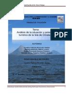 Análisis de la situación y potencial turístico de la isla de ometepe 2008