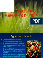 Agricultural Reform in India