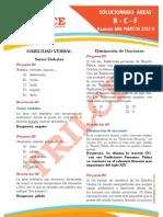 Solucionario San Marcos 2012 - II BCF