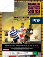 Bangkok International Rugby Tens 2013