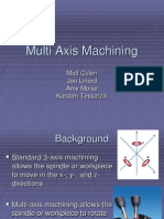 Multi Axis Machining Report