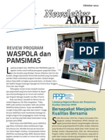 Newsletter AMPL Edisi Oktober 2012