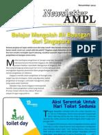 Newsletter AMPL Edisi Nopember 2012