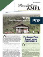 Newsletter AMPL Edisi Desember 2012