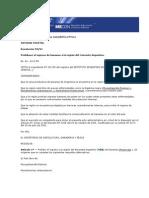Secretaría de Agricultura Resolución Nro 99-1994