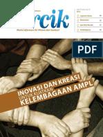 Inovasi dan Kreasi untuk Kuatkan Kelembagaan AMPL. PERCIK Edisi 2 Tahun 2012