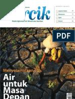 Menyelamatkan Air untuk Masa Depan. PERCIK Edisi 4 Tahun 2012