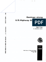 p-130 geology along highway 93 in id 1963