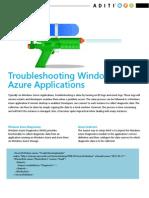 Troubleshooting Windows Azure