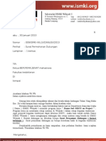 Surat Pernyataan Dukungan
