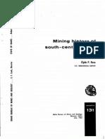 p-131 mining history of south central idaho 1963