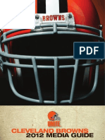2012 Cleveland Browns Media Guide (292p)