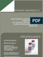 MEROPENEM