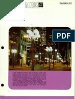 Sterner Lighting Plastic Shapes Globe-Lite Brochure 1982