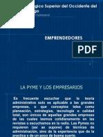 2 Emprendedores y La Pyme