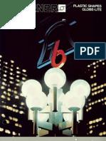 Sterner Lighting Plastic Shapes Globe-Lite Brochure 1987