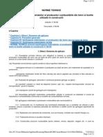 C 58-1996 Norme Tehnice Privind Ignifugarea Materialelor Si Produselor Combustibile Din Lemn Si Textile Utilizate in Constructii