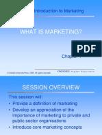 Basis of Marketing