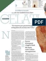 Gianni Celati Si Racconta Mentre Esce La Sua Traduzione Di Joyce - La Repubblica 03.03.2013