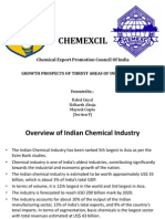 CHEMEXIL - Chemical Exports from India (Presentation)
