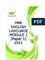 86904743 Pmr English Language Module 1 Paper 1