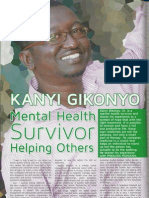 "Parents Magazine ""Mental Health Survivor"" March 2013  Kanyi Gikonyo"
