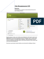 Basic Tutorial Dreamweaver CS5