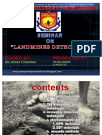52260032 Landmine Detection