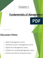 1. Fundamentals of Management Control