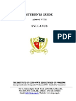 Business Finance Syllabus