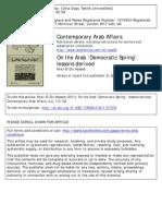 Arab Democratic Spring