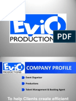 Evio Productions Company Profile