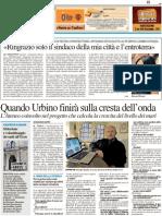 Quando Urbino finirà sulla cresta dell'onda - Il Resto del Carlino del 1 marzo 2013