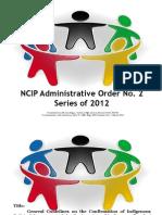 IPS-IPO Guidelines NCIPXII