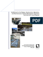 Guidelines for the Design, Construction_Operation, And Maintenance of Small Wastewater Treatment Facilities With Land Disposal