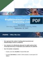 Bio Pharmaceutical Innovation Improving Lives