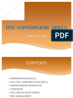 Hse Supervision Skills