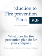 Introduction to Fire Prevention Plans