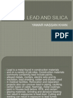 Lead and Silica