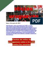 Noticias Uruguayas Lunes 4 de Marzo Del 2013
