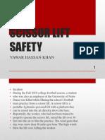 Scissor Lift Safety