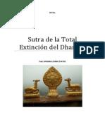 Sutra de la Total Extinción del Dharma
