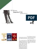 Jonathan InterimCrit Presentation