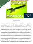 2002 Bajaj Legend Scooter Workshop Manual