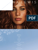 Spirit - Booklet