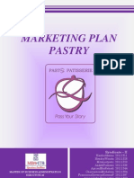 Marketing Plan Report of Pastry Outlet at Campus