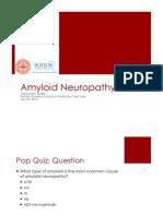 Amyloid Neuropathy