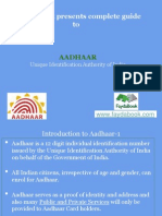Aadhaar- complete guide to get your card fast