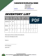 Msaii Inventory