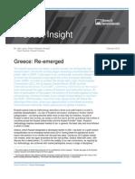 """Υποβάθμιση της Ελλάδας σε """"αναδυόμενη"""" αγορά"""